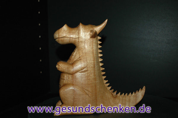 Räucherdrache aus Holz