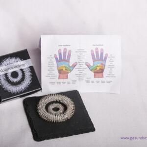 Akupressurringe Massage Set