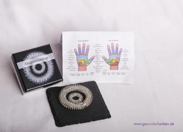 Akupressurringe Massage-Set