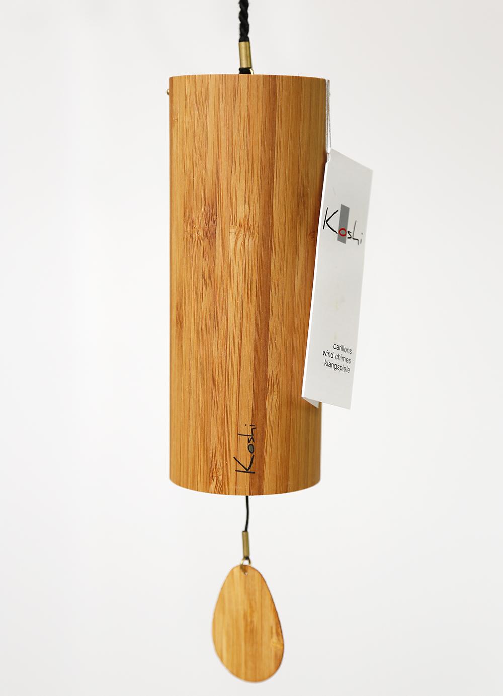 Erde mit  Geschenkverpackung Koshi Klangspiel aus Bambusfurnier Terra