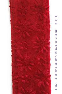 """Detailansicht Wärmflasche """"Longi"""" - 2,0 Liter in Rot"""