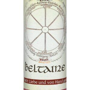 Allgäuer Heilkräuter-Kerze – Beltaine (Jahresrad)