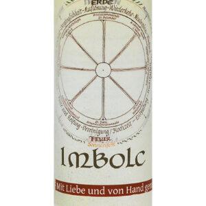 Allgäuer Heilkräuter Kerze – Imbolc (Jahresrad)