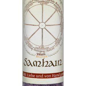 Allgäuer Heilkräuter-Kerze – Samhain (Jahresrad)
