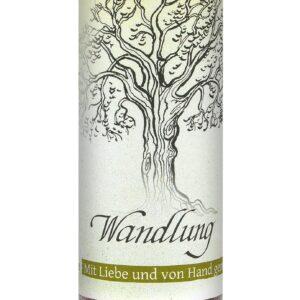 Allgäuer Heilkräuter-Kerze – Wandlung (Geist der Bäume)
