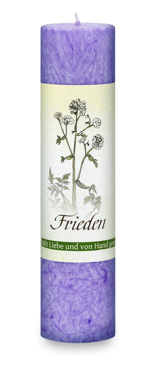 Allgäuer Heilkräuter-Kerze – Frieden (Lebensthemen)
