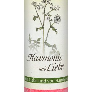 Allgäuer Heilkräuter-Kerze – Harmonie und Liebe (Lebensthemen)