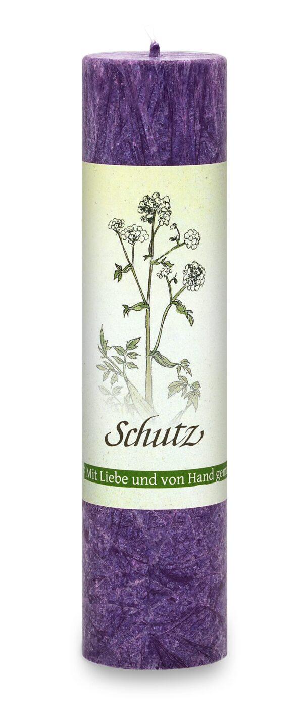 Allgäuer Heilkräuter-Kerze – Schutz (Lebensthemen)