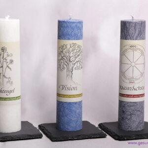 Kerzenuntersetzer aus Schiefer – Quadratisch – ca. 10 cm
