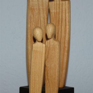 Stimmungsbarometer aus Holz